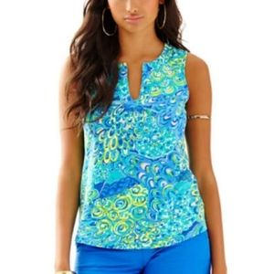 New! Lilly Pulitzer   .Marlow Top